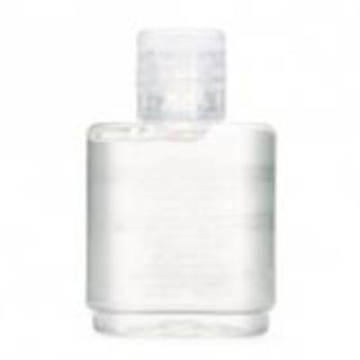 Álcool gel em frasco plástico com 35ml.