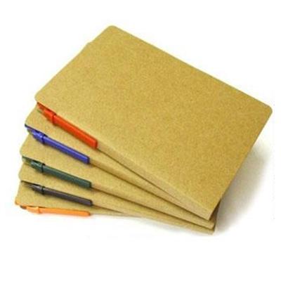 Bloco de Anotações com Caneta Reciclável e Post it