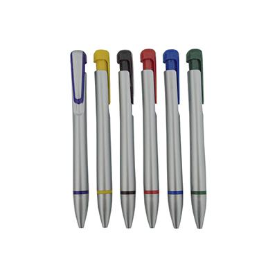 Canetas plástica colorida