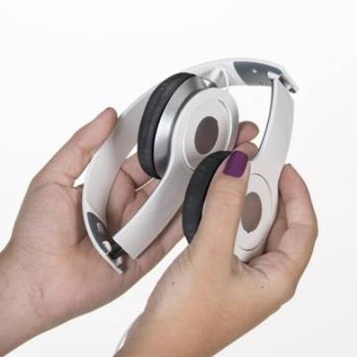 Fone de ouvido estéreo articulável,