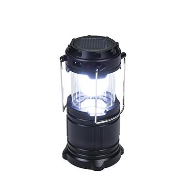 Lanterna de led recarregável, plástico.