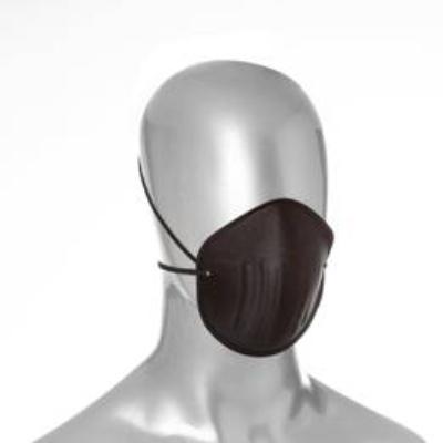 Máscara anatômica reutilizável, produzida em duas camadas de microfibra sintética e uma camada filtrante,