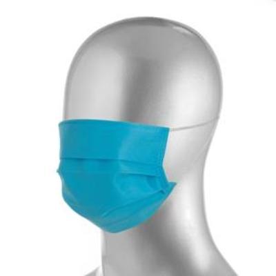 Máscara descartável TNT40 com acabamento