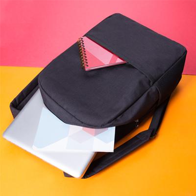 Mochila nylon poliester para notebook.